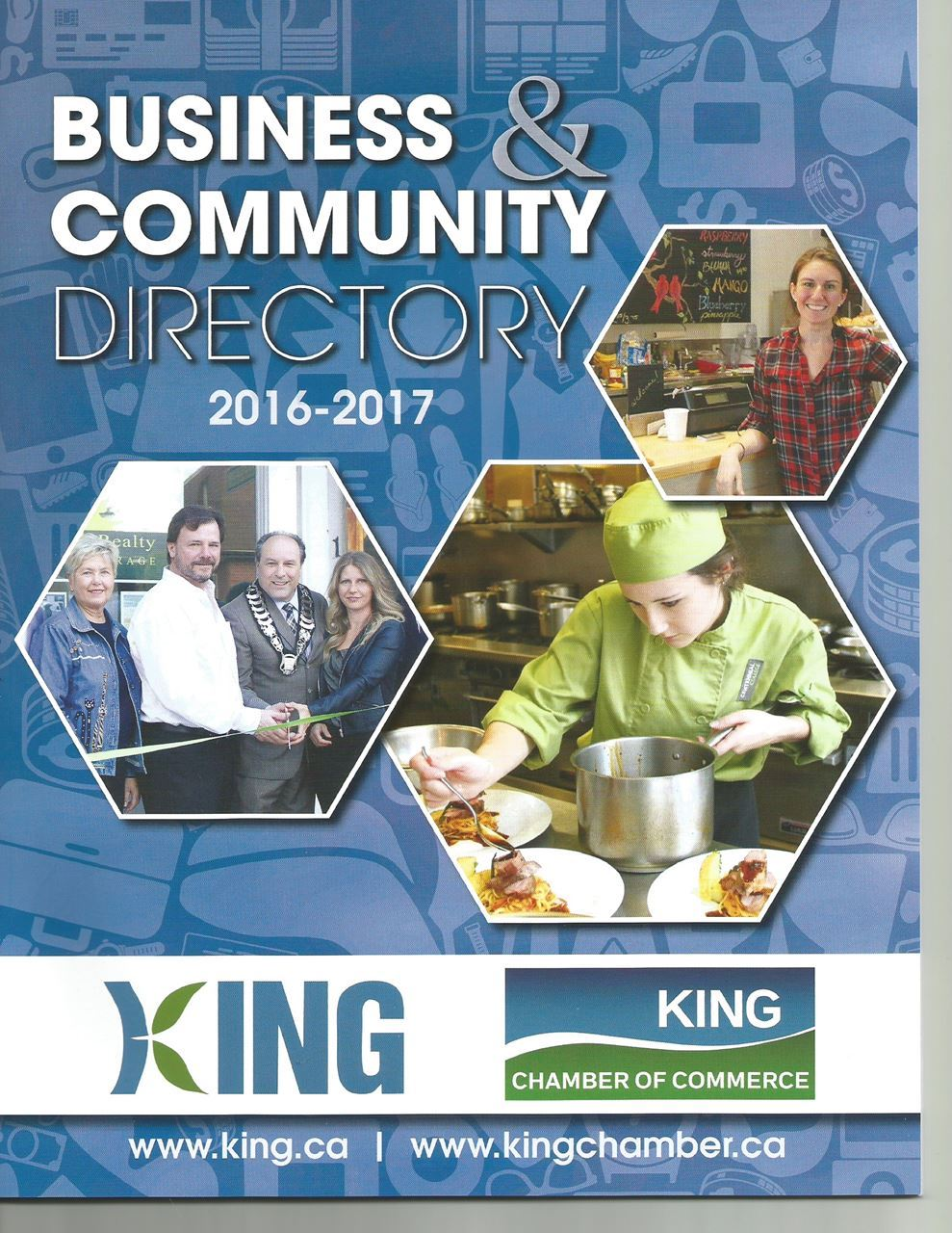 To open the Business & Community Directory 2016-2017 - Click